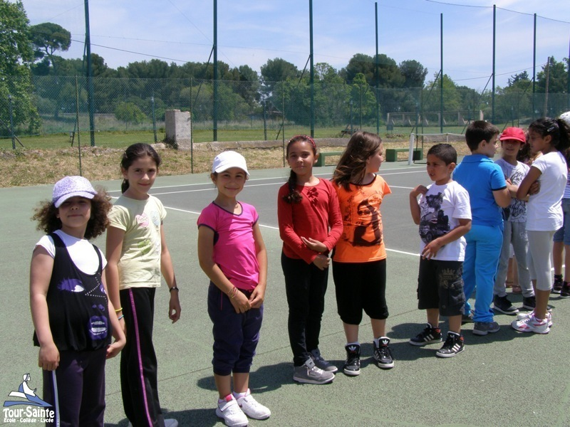 tournoi de tennis ecole tour sainte